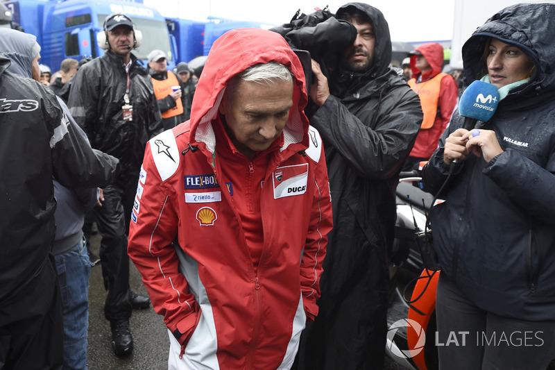 Давіде Тардоцці, керівник команди Ducati Team, після засідання Комісії з безпеки
