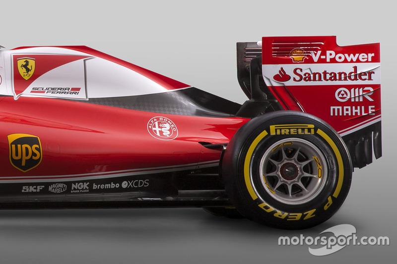 Detalhe do Ferrari SF16-H