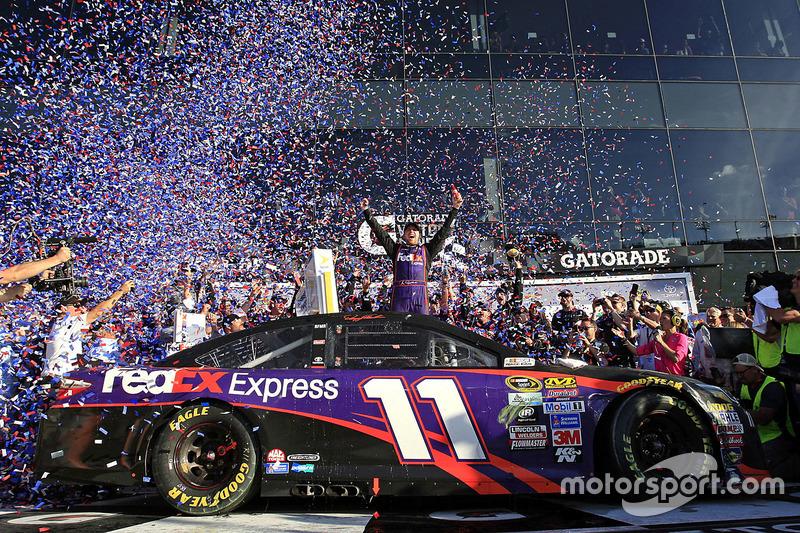 5. Sieger: Denny Hamlin, Joe Gibbs Racing Toyota