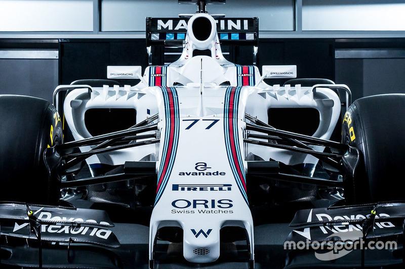 Valtteri Bottas, Williams FW38 livery detail