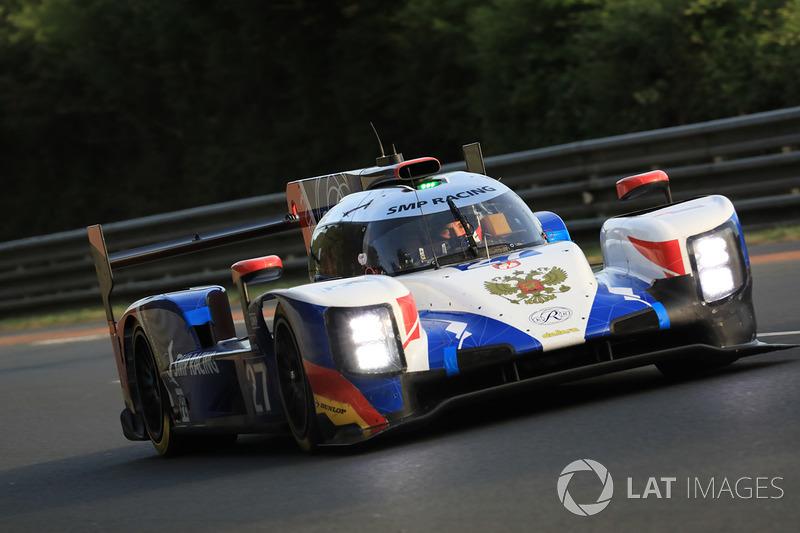 16. LMP2: #27 SMP Racing, Dallara P217 Gibson