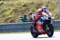 Danilo Petrucci, Pramac Racing, teste un nouveau carénage