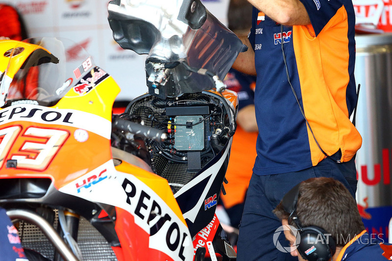 Паливний бак мотоцикла Марка Маркеса, Repsol Honda Team
