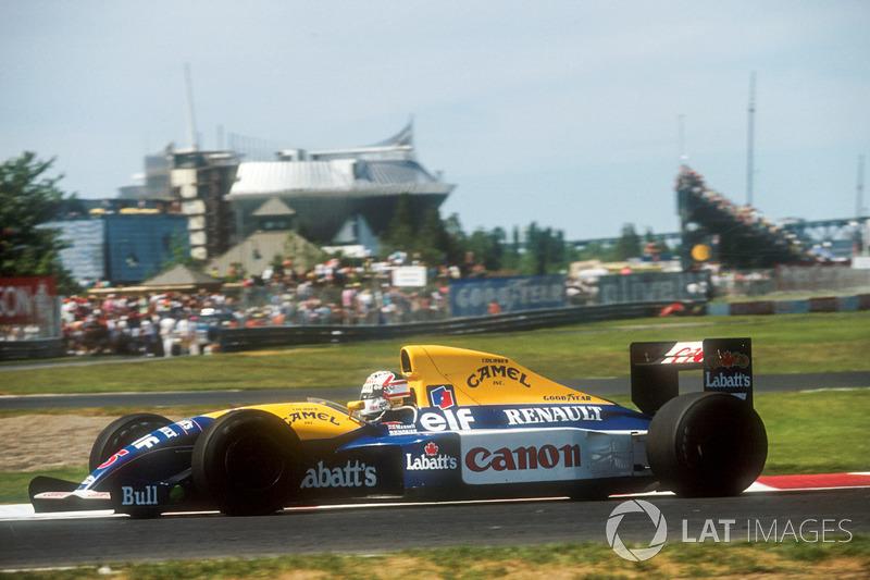 7. El Williams FW14 Renault de Fórmula 1