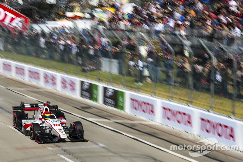 Sébastien Bourdais, Dale Coyne Racing. Honda