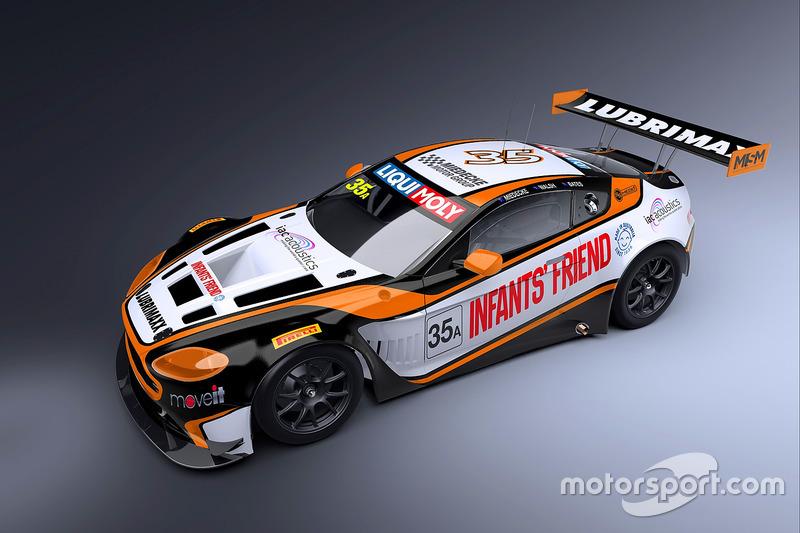 Miedecke Stone Motorsport Aston Martin V12 Vantage GT3
