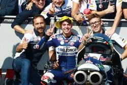 Tweede plaats Fabio Di Giannantonio, Del Conca Gresini Racing Moto3