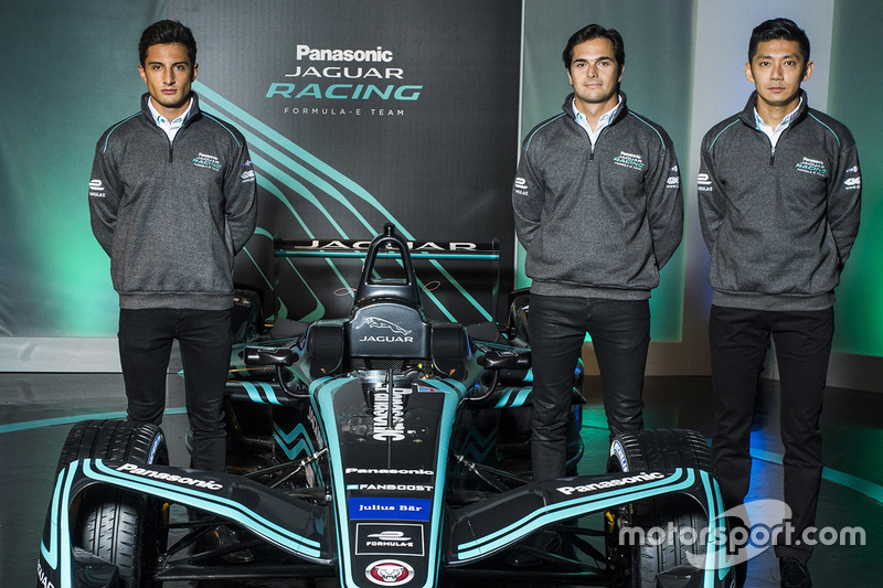 Mitch Evans, Nelson Piquet Jr., Jaguar Racing