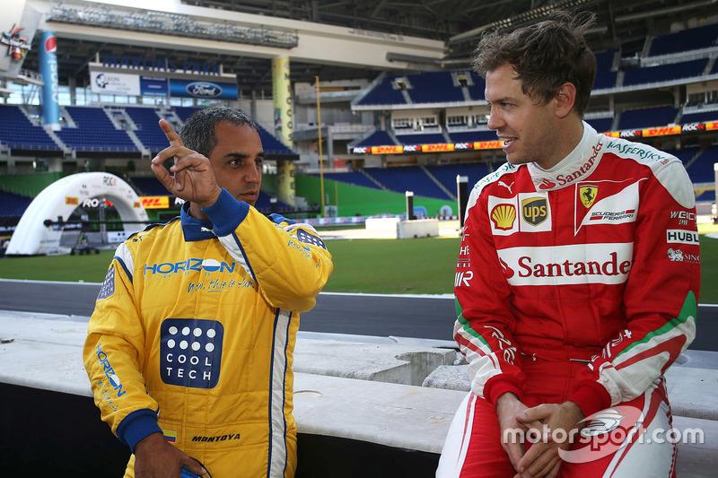 Juan Pablo Montoya; Sebastian Vettel