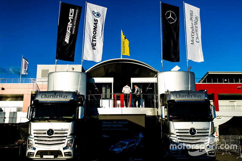 Моторхоум команды Mercedes