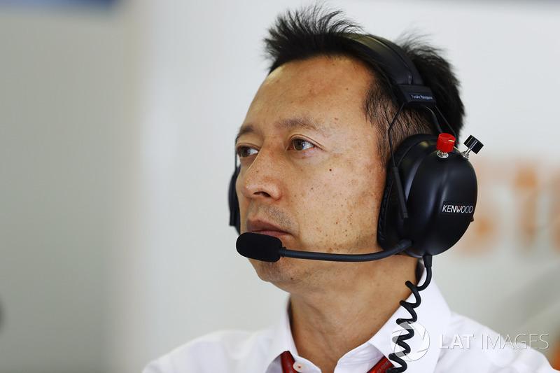 Yusuke Hasegawa, Director Gerente Honda