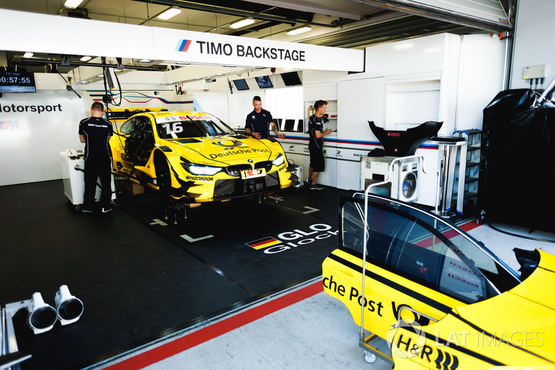 Машина Тімо Глока, BMW Team RMG, BMW M4 DTM
