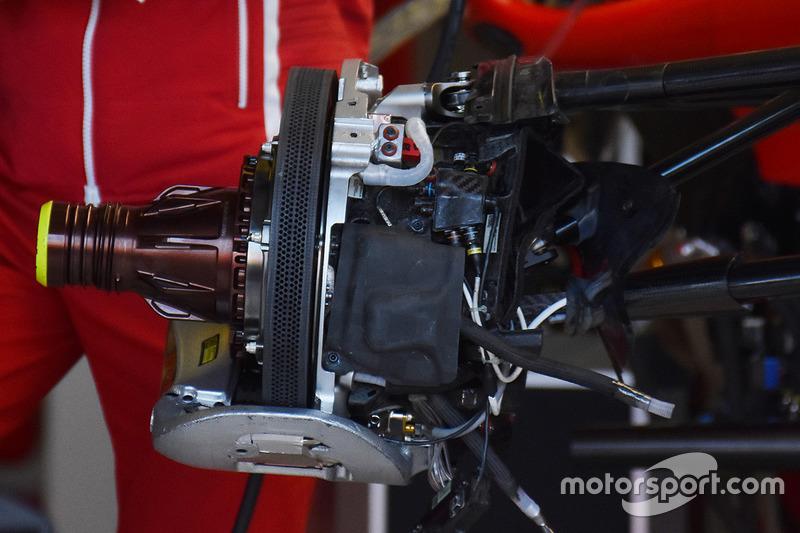 Тормоза Ferrari SF70H