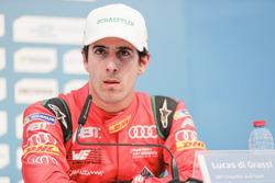 Lucas di Grassi, ABT Schaeffler Audi Sport, in the press conference