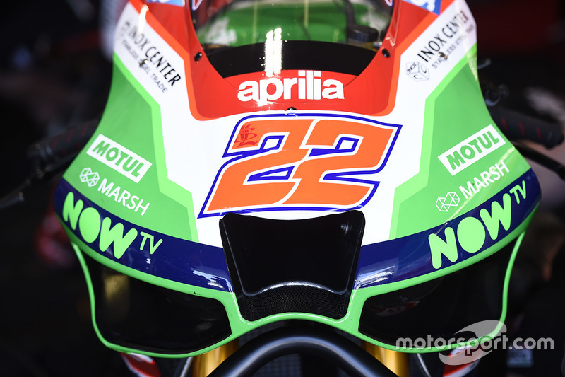 Sam Lowes's Aprilia
