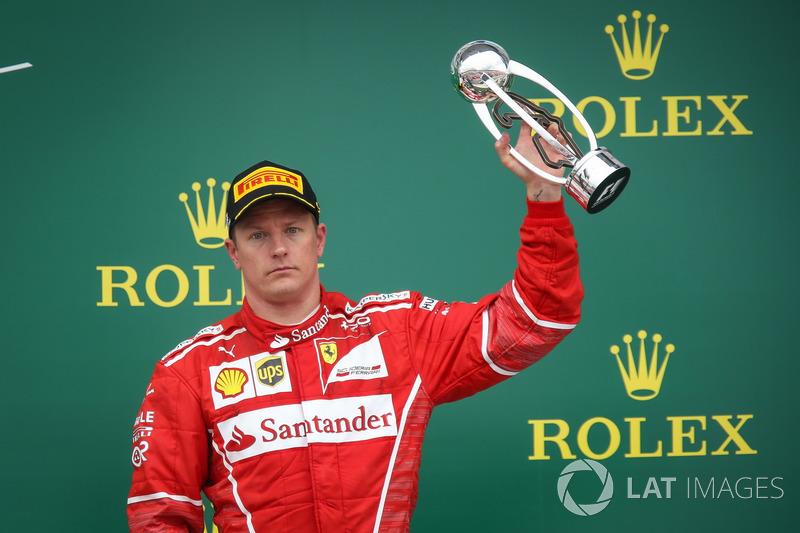 Gewinner: Kimi Räikkönen (Ferrari)