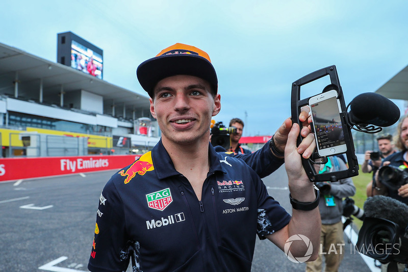 Max Verstappen, Red Bull Racing and camera