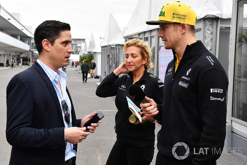 Ніко Хюлькенберг, Renault Sport F1 Team, маркетолог Гран Прі Мексики Родріго Санчес