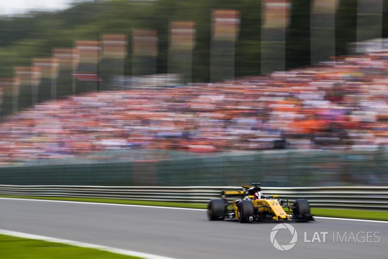 Nico Hulkenberg, Renault Sport F1 Team RS1