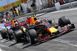 Макс Ферстаппен и Даниэль Риккардо, Red Bull Racing RB13
