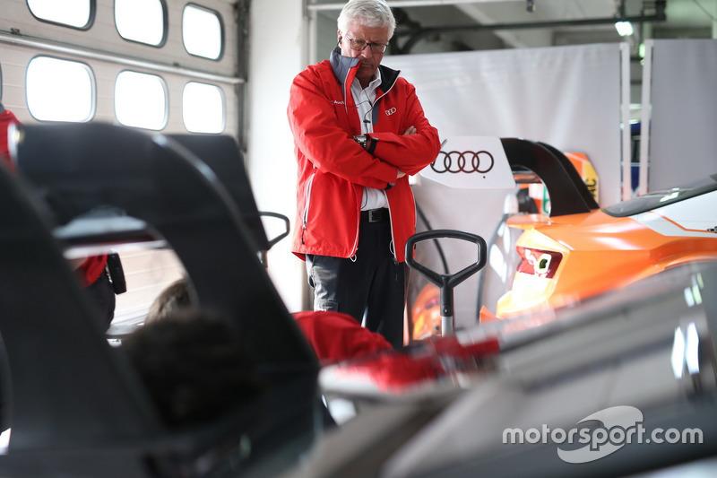 Arno Zensen, Audi Sport Team Rosberg, Teammanager