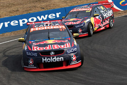 Shane van Gisbergen, Triple Eight Race Engineering, Holden; Jamie Whincup, Triple Eight Race Engineerin, Holden