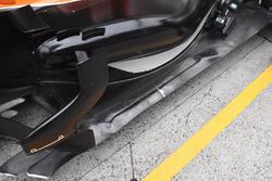 McLaren MCL32, fondo vettura
