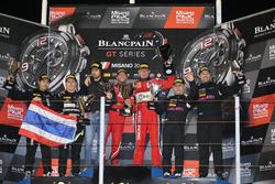 Podium AM-Cup: 1. #11 Kessel Racing, Ferrari 488 GT3: Michael Broniszewski, Giacomo Piccini; 2. #39 Kessel Racing TP12, Ferrari 488 GT3: Piti Bhirombhakdi, Carlo Van Dam, 3. #70 Kornely Racing, Mercedes-AMG GT3: Yoshi Mori, Kenneth Heyer