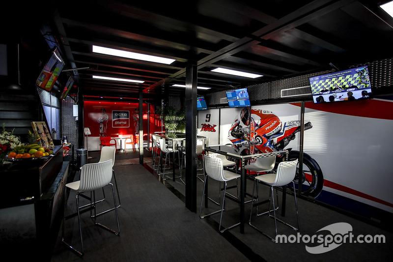Pramac Racing hospitality