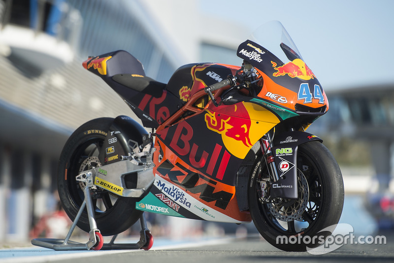 Bike of Miguel Oliveira, Red Bull KTM Ajo