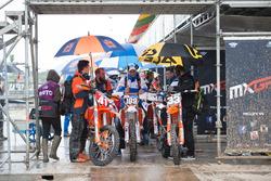 MX2 KTM: Pauls Jonass y Brian Bogers