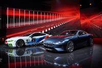 BMW M8 GTE und Straßenversion des 8er BMW