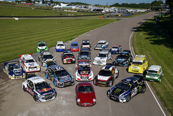 Group photo at Lydden Hill Circuit