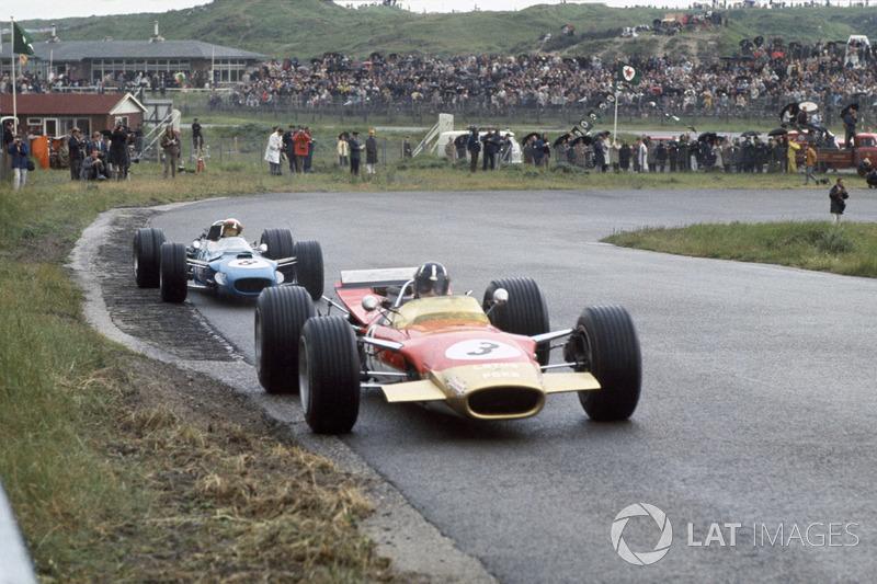 1968: Graham Hill,Lotus 49B-Ford y Jackie Stewart, Matra MS10-Ford