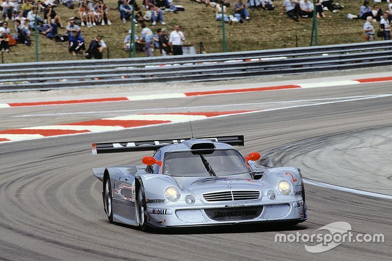 #2 AMG Mercedes-Benz CLK-LM: Klaus Ludwig, Ricardo Zonta