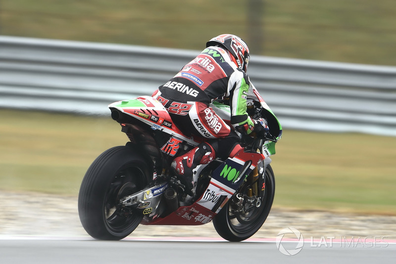 Ausfall: Sam Lowes, Aprilia Racing Team Gresini