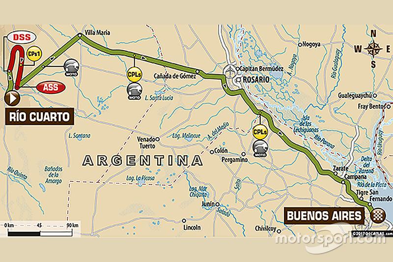 12. Etappe: Rio Cuarto - Buenos Aires bei Rallye Dakar - Rallye ...