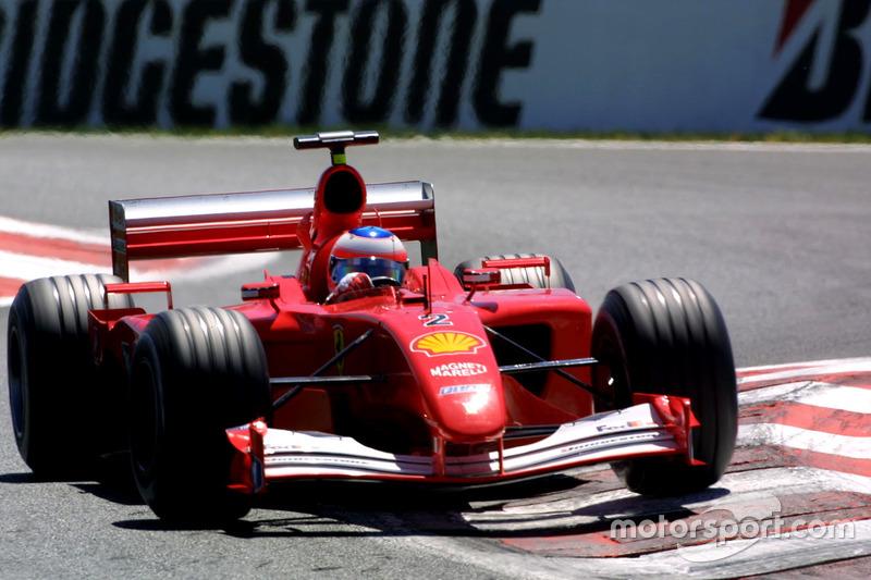 2001-2002: Ferrari F2001
