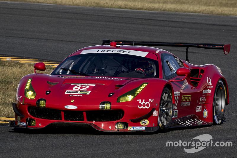 #62 Risi Competizione Ferrari 488 GTE: Toni Vilander