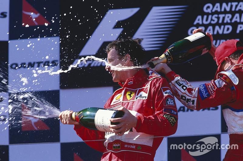 1999: 1. Eddie Irvine, 2. Heinz-Harald Frentzen, 3. Ralf Schumacher