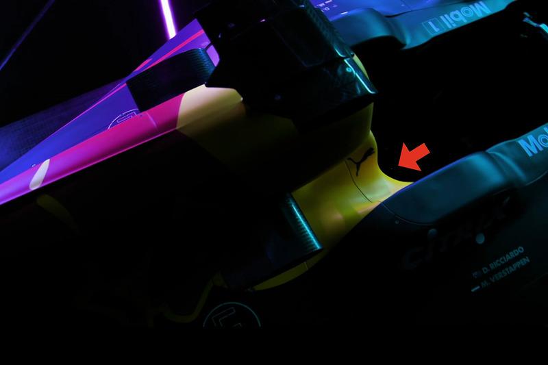Détails de la Red Bull Racing RB13