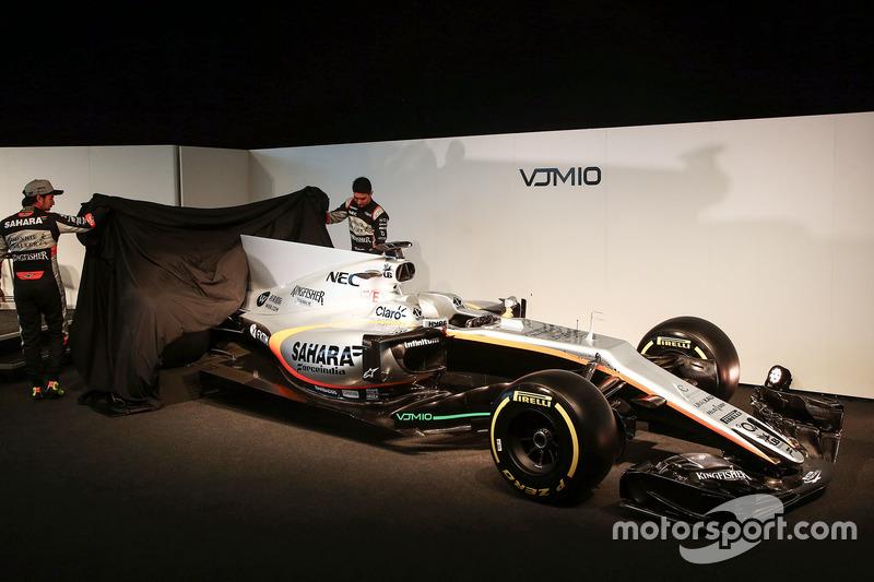 10. Force India VJM10