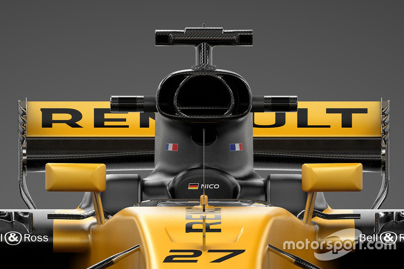 Renault Sport F1 Team RS17 в деталях