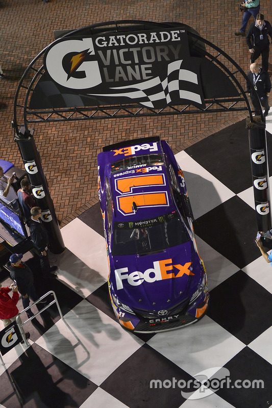 1. Duel 2: Denny Hamlin, Joe Gibbs Racing, Toyota