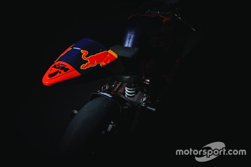 Bike von Red Bull KTM Ajo Team