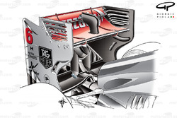 McLaren MP4/28 rear wing, Singapore GP