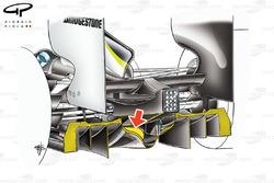 Brawn BGP 001 2009 double diffuser detail view