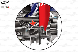 Red Bull RB8 - Driveshaft bodied within lower wishbone
