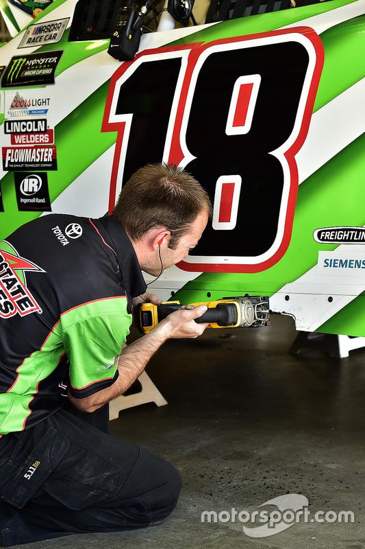 Mechaniker von Joe Gibbs Racing