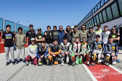Giovani FMI e VR46 Riders Academy insieme al Misano World Circuit